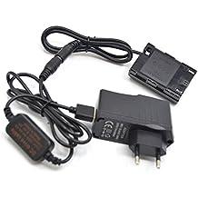 DR-E6 LP-E6 LP E6 V/öllig decodierte Dummy Batterie f/ür Canon EOS 5D Mark II III 5D2 5D3 60D 70D 80D 6D Mark II Power-Anzeige 5V USB Adapter Kit Kabel DC 8.4V ACK-E6