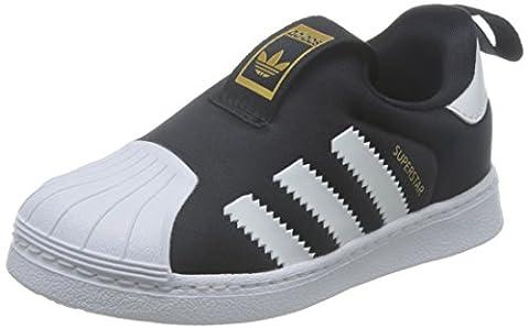 adidas, Jungen Trekking- & Wanderstiefel , Mehrfarbig - schwarz / wei - Größe: 20