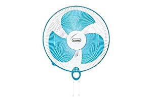 V-Guard Finesta STD 400mm Wall Mounting Fan (Blue White)