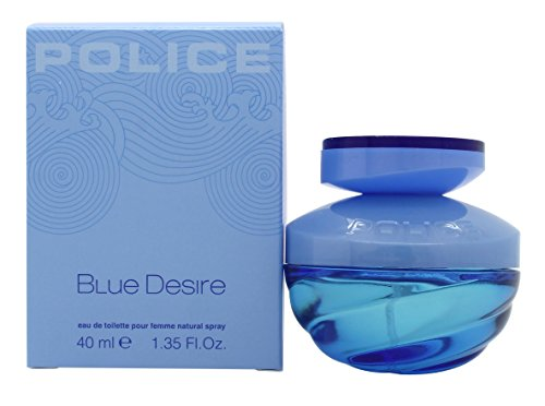 Police Blue Desire EDT for Women, Blue, 40ml