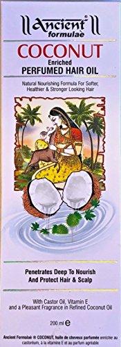 Hesh Herbal - formules antique de coco enrichi à base de plantes huile pour cheveux - Volume: 200 ml