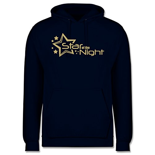 Typisch Männer - Star of The Night - XL - Navy Blau - JH001 - Herren ()