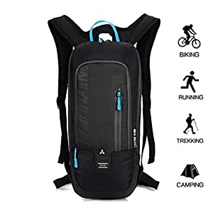 41tCXbyp1pL. SS300  - BLF Bike Backpack, Waterproof Breathable Cycling Bicycle Rucksack, 10L Mini Ultralight Biking Daypack Sport Bags Gift…