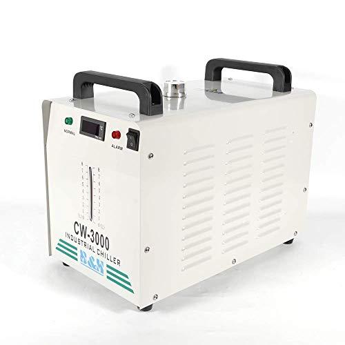 PRIT2016 9L Agua Enfriador Industrial 10L/min de Agua Chiller Enfriador para CNC láser de grabado grabado máquinas Agua de Refrigeración Chiller 60 Tubo/80W CO2