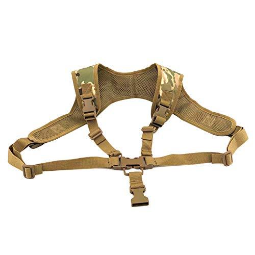SimpleM Tactical Tattoo fürs Leben, Tactical Multifunktions-Taille verstellbar für das Brustbein Sicherheitscode für Sport Pocket Life für Schrotflinte -
