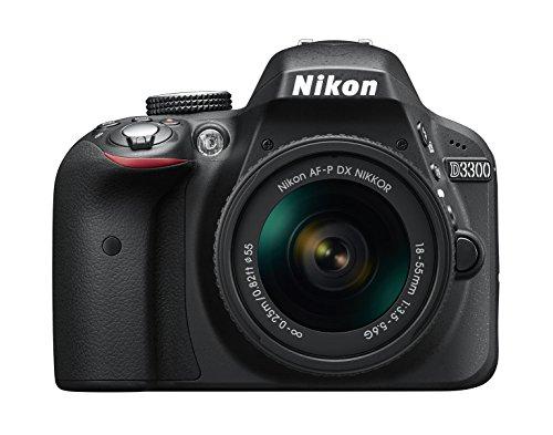 Nikon D3300 18-55/3.5-5.6 AF-P G DX VR (24.7 Megapixel (3 Zoll Display))