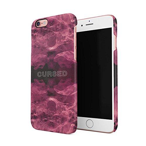 Black Is Not Sad, It's Poetic Dünne Rückschale aus Hartplastik für iPhone 6 & iPhone 6s Handy Hülle Schutzhülle Slim Fit Case cover Cursed