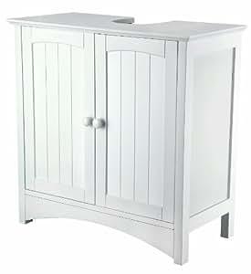 wash basin under cupboard white lacquered mdf 60 x 60 x 30 cm sydney kitchen home. Black Bedroom Furniture Sets. Home Design Ideas