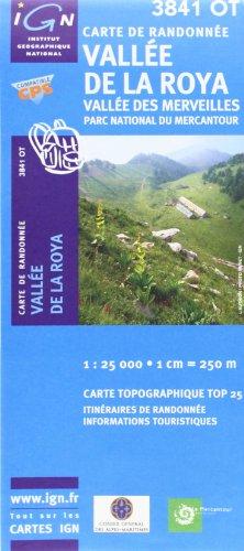 Carte de randonnée : Vallée de la Roya