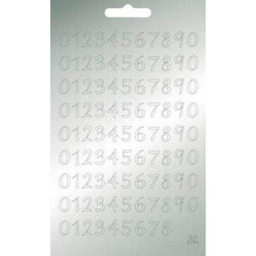 Artoz Collato Peel Off Text-Sticker 4481 silber,