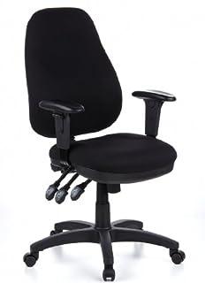 HJH Office ZENIT PRO Silla giratoria de oficina Negro 46 x 58 x 121 cm (B005M23S14) | Amazon Products