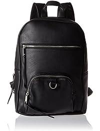 PIECES Damen Pcsuni Backpack Rucksackhandtasche, Schwarz (Black), 15 x 37 x 29 cm