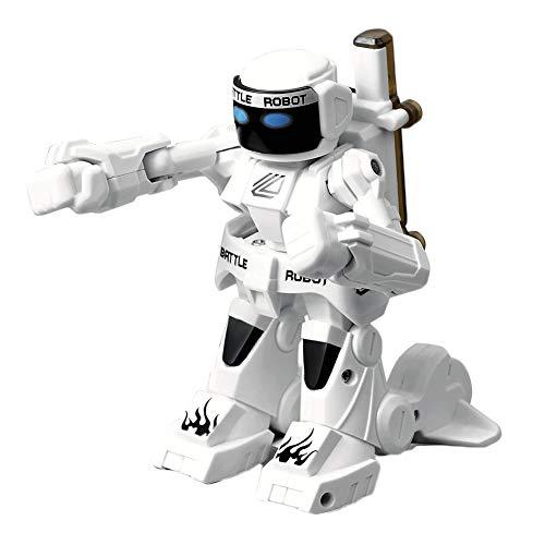 Traioy Robot de Combat télécommandé somatosensoriel 2.4g Double modèle de Combat concurrentiel Jouet Real Combat de Boxe,Black
