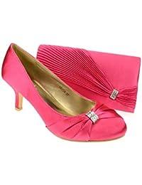 Amazon.co.uk: Kitten Heel - Court Shoes / Women's Shoes: Shoes & Bags