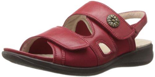 Softwalk Tanglewood Cuir Sandales red