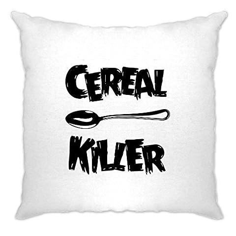 Cereal Killer Löffel Lustige Frühstück Speisen, Humor, Slogan Chef Polsterbezuge
