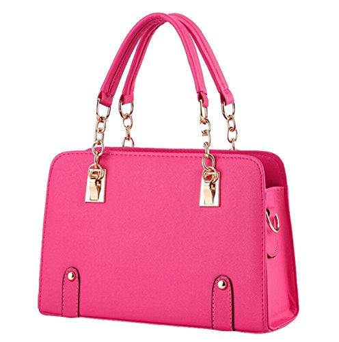 Modelli Estivi Ms. Borse Marea Catena Tracolla Moda Femminile Bag Messenger Pink
