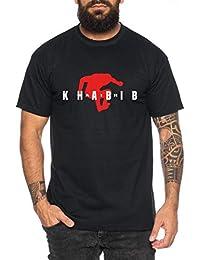 Tee Kiki Air Khabib II Camiseta de Hombre Cool Fitness Sport Shirt