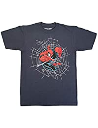 181486faa59ef ... Ropa   Mighty Fine. Marvel Spider-Man Web Sling Camiseta con Gráfico