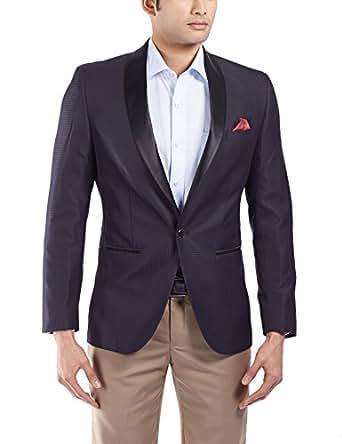 John Miller Men's Polyester Slim Fit Blazer (8907130279684)