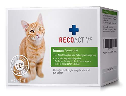 RECOACTIV Immun Tonicum für Katzen - Kurpackung 3x90 ml