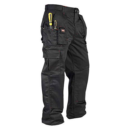 Lee Cooper Cargo Pantalon pour homme - Noir -30W/29S