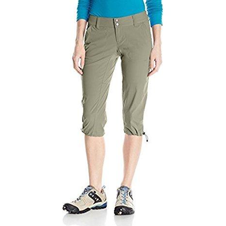 Columbia Saturday Trail II Knee Pantaloni da Escursionismo, Donna Night Shadow