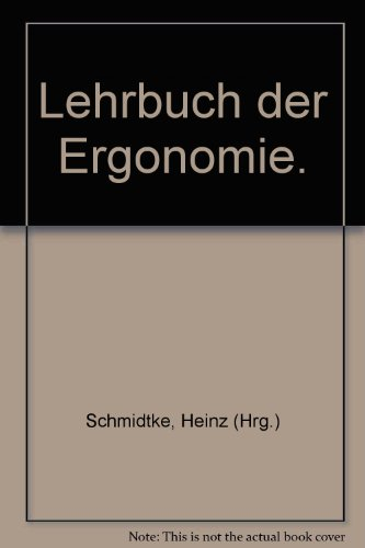 Lehrbuch der Ergonomie