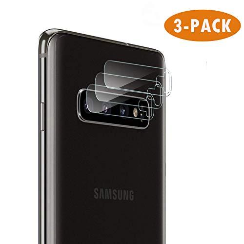 Hotbon Kamera Panzerglas Schutzfolie Ersatz für Samsung Galaxy S10, [3 stück] Flexible Glasschutzfolie,Hochauflösender Panzerglas blasenfreier Hartglas für Samsung Galaxy S10