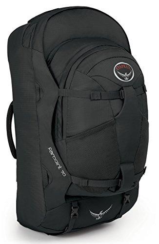 Mochila Osprey Farpoint 70 volcanic grey (negro) M/L
