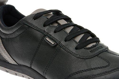 Geox  Geox Vega ABX Damen Halbschuhe - schwarz D44B2C 00046 C9999, Chaussures de ville à lacets pour femme Noir - Noir