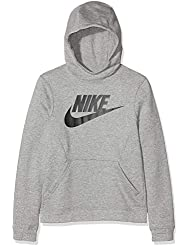 Nike B NSW Po Hoodie Club FLC Hbr Sweat-Shirt Garçon