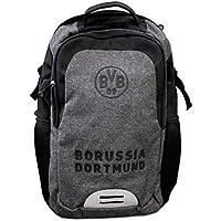 Borussia Dortmund Schulrucksack grau