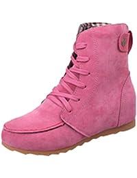 Botas Mujer, Amlaiworld Botines Zapatos de Tacón zapatos mujer otoño invierno plataforma