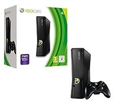 Xbox 360 - Konsole Slim 4 GB, schwarz-matt