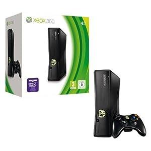 Xbox 360 – Konsole Slim 4 GB, schwarz-matt