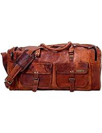 Urban Hide UH404 - Bolsa de viaje  marrón Tan Bown L x B x H - (22 x 9 x 14) inches