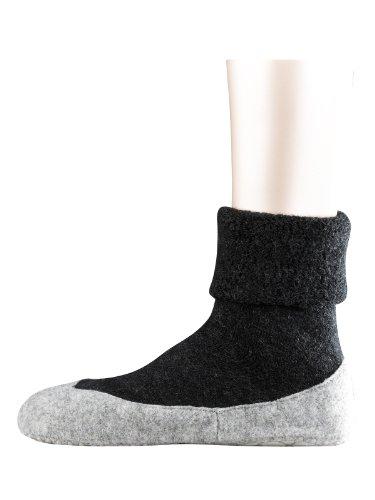 FALKE Damen Socken  47571 Cosy Shoe, Gr. 39/40, Grau (anthra mel. 3099)