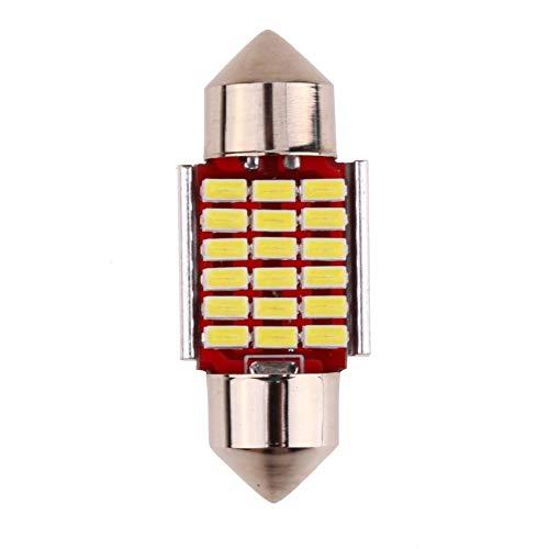 Cikuso 2 Pezzi C5W C10W 41mm 3014 33SMD Festoon LED Canbus Auto Inteiror Lampadina Luce Targa 12V