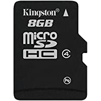 Kingston - SDC4/8GBSP - Carte Micro SDHC - Classe 4-8 Go sans Adaptateur