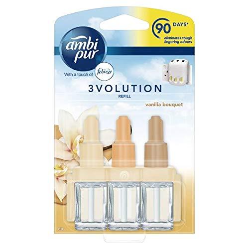 Ambi Pur '3X 3Volution elettrico ricarica per deodorante vaniglia Bouquet-20ML