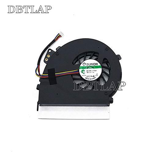 DBTLAP Laptop CPU Lüfter Kompatibel für Acer Extensa eMACHINES E528 E728 CPU Kühlung Lüfter 4-Wires (Emachines Cpu)
