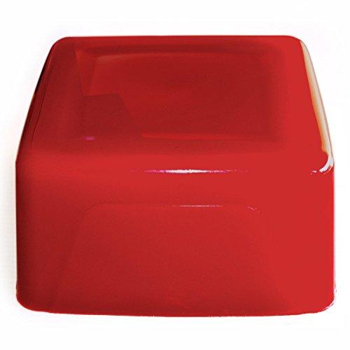 Seifenprofis Gießseife Rohseife Glycerinseife - Rot - 5 kg