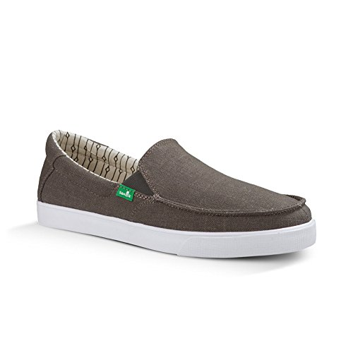 Sanuk Mens Sideline TX Slip On Brindle Linen
