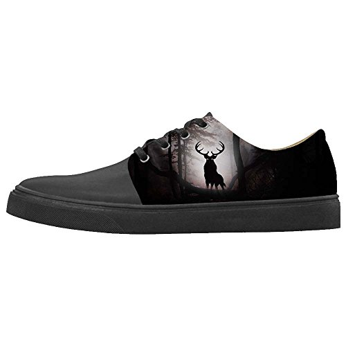 Dalliy kunst hirsch Boy's Canvas shoes Schuhe Footwear Sneakers shoes Schuhe E