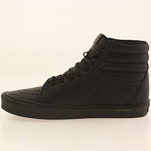 Vans Ledersneaker SK8 HI LITE Leather Black Black Leather Black Black