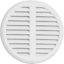 Rejilla de ventilación ajustable de plástico para tubos de 75–125mm Deck maß175mm con protección contra insectos