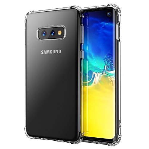 e73200df263 anccer Funda para Samsung Galaxy S10E, Silicona Transparente Protector Gel  Ultra Fina Protección Case Compatible