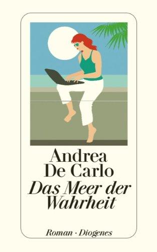 Buchseite und Rezensionen zu 'Das Meer der Wahrheit' von Andrea De Carlo