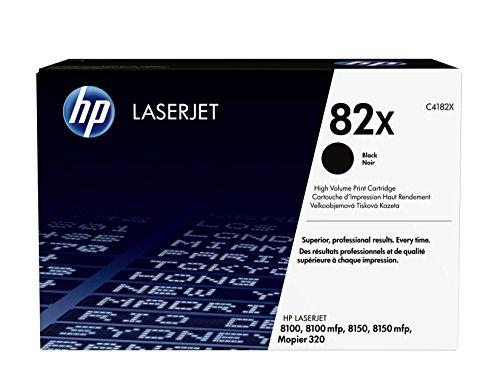 HP 82X (C4182X) Schwarz Original Toner mit hoher Reichweite für HP Laserjet 8150, Mopier 320 (8150n Hp Laserjet)